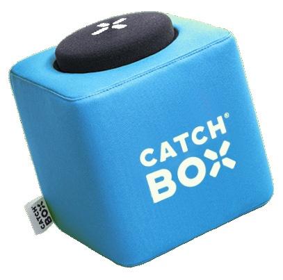 Catchbox Pro Blauw incl. headset microfoon