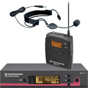 Senheiser draadloze headset microfoon