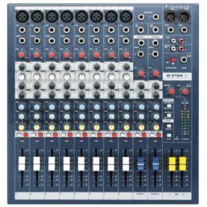 8- Kanaals mixer / mengpaneel