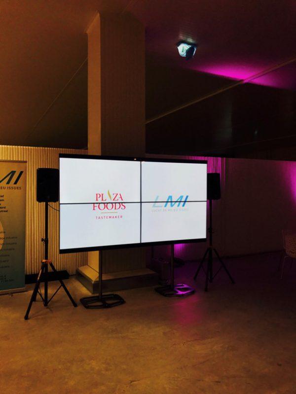Videowall 2 x 2 (4 * 55 inch)