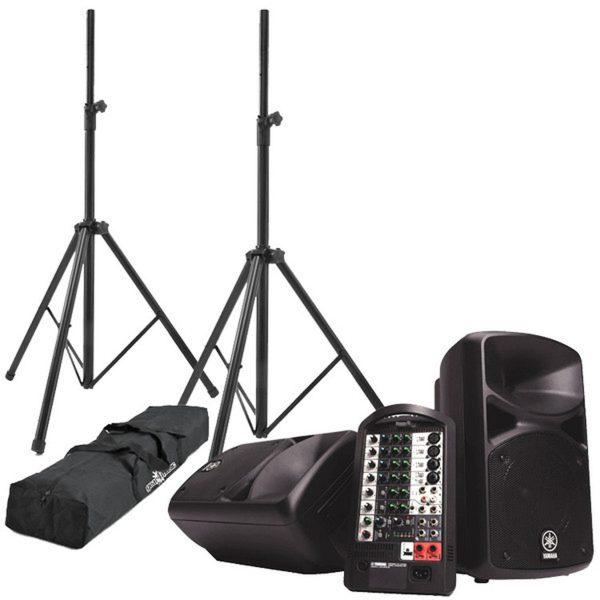 Yamaha 2 * 200 Watt geluidsset