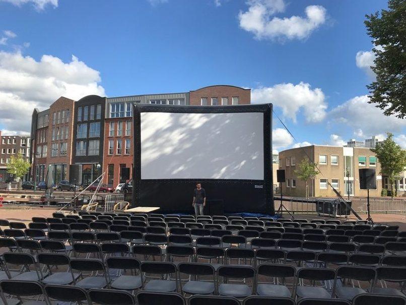 Outdoor cinema airscreen - buitenbioscoop